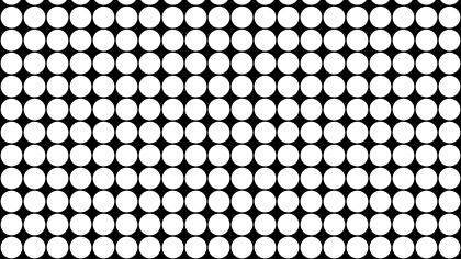 Black and White Circle Background Pattern Vector Graphic