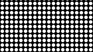 Black and White Geometric Circle Background Pattern