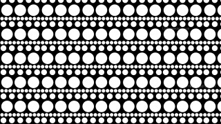 Black and White Circle Pattern Illustrator