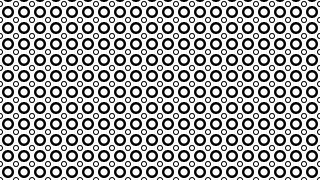 Black and White Geometric Circle Pattern Background Graphic