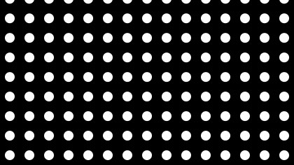 Black and White Geometric Circle Background Pattern Illustration