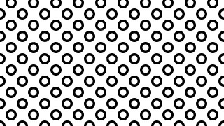 Black and White Circle Pattern Background