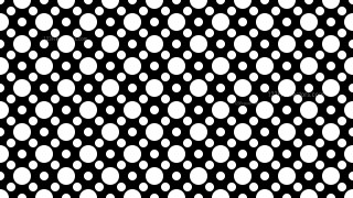 Black and White Seamless Circle Pattern