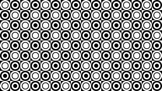 Black and White Circle Background Pattern Illustrator