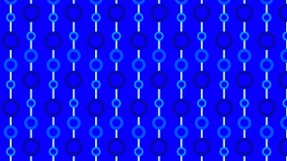 Cobalt Blue Seamless Circle Pattern