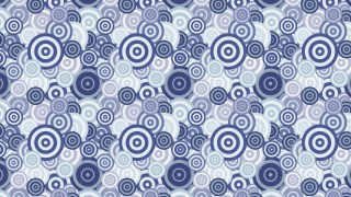 Light Blue Overlapping Concentric Circles Pattern Background Design