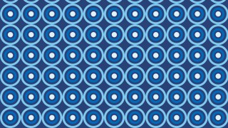 Blue Seamless Geometric Circle Background Pattern Vector Art