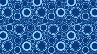 Blue Circle Pattern Background Image