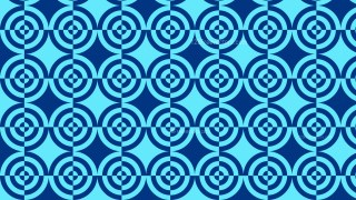 Blue Quarter Circles Pattern Background