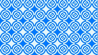 Blue Seamless Quarter Circles Pattern Background