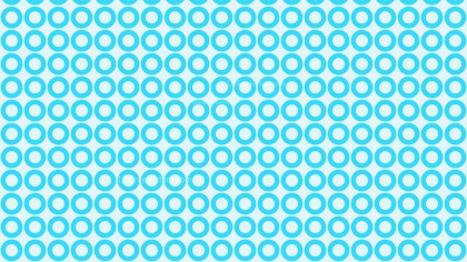 Baby Blue Geometric Circle Background Pattern