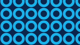Dark Blue Seamless Circle Pattern