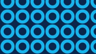 Dark Blue Seamless Circle Pattern