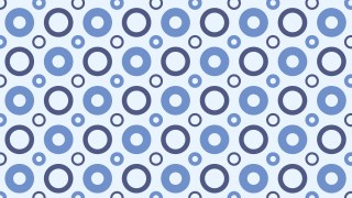 Light Blue Circle Pattern Background Vector Illustration