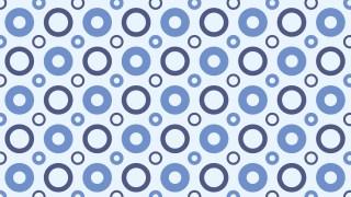 Light Blue Circle Pattern Background Vector Illustration