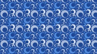 Blue Seamless Geometric Circle Pattern Background Illustrator