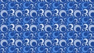 Blue Seamless Geometric Circle Pattern Background Illustrator