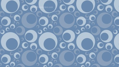 Light Blue Retro Circles Pattern Vector Art