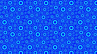 Cobalt Blue Circle Background Pattern