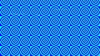 Blue Quarter Circles Background Pattern Illustrator