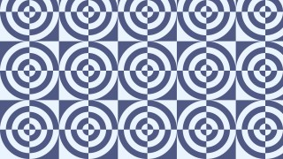 Light Blue Seamless Quarter Circles Pattern Vector Illustration