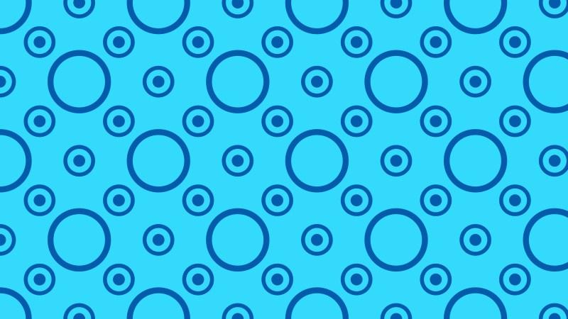 Blue Circle Pattern Background Illustration