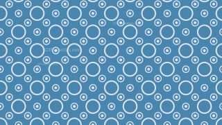 Blue Circle Background Pattern Design