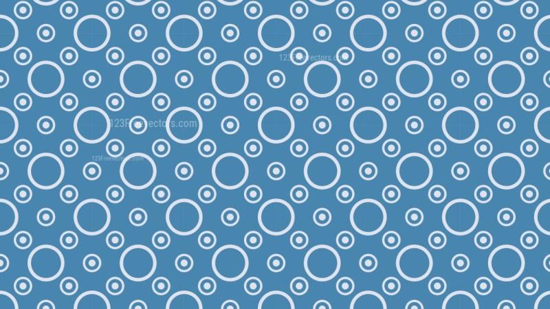 Blue Circle Background Pattern Design