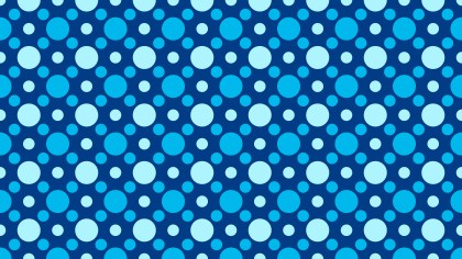 Blue Geometric Circle Background Pattern Vector Image