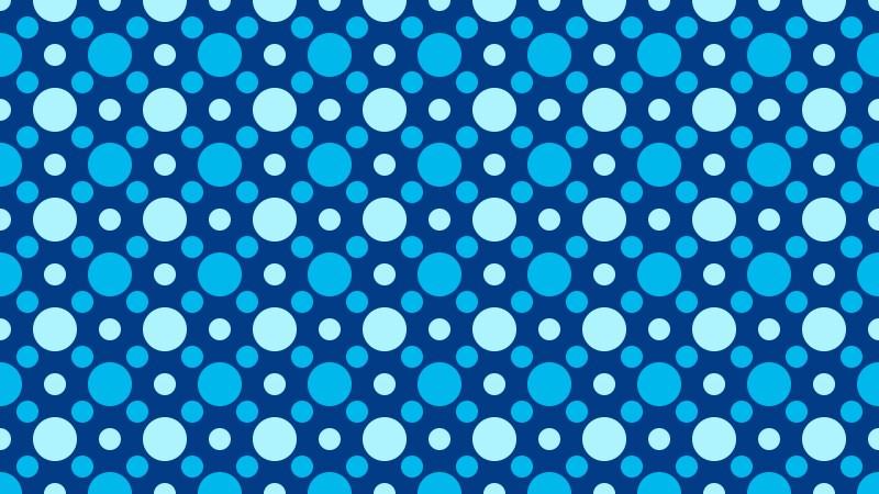 Blue Geometric Circle Background Pattern Vector Image