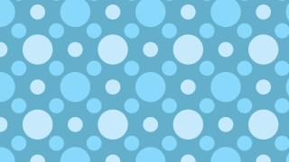 Light Blue Seamless Circle Pattern Background Vector Illustration