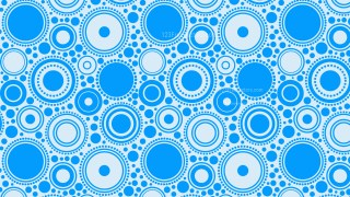 Blue Circle Pattern Vector Graphic