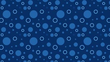 Navy Blue Geometric Circle Pattern Background