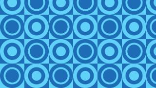 Blue Circle Pattern Background Vector Art