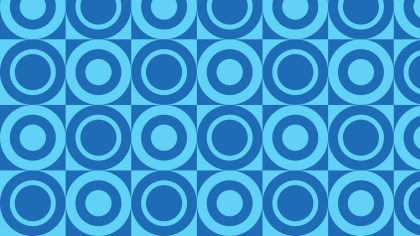 Blue Circle Pattern Background Vector Art