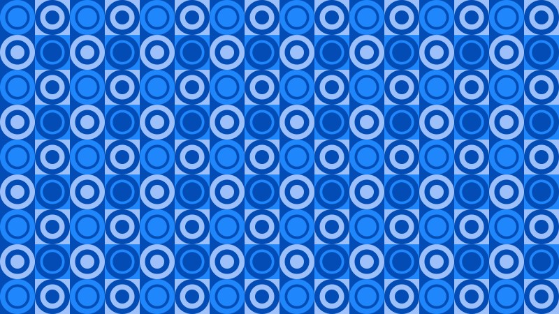 Blue Circle Background Pattern Graphic