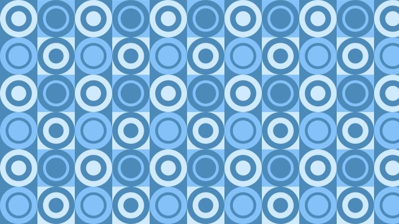 Blue Geometric Circle Pattern Background Design