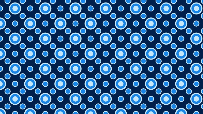 Dark Blue Geometric Circle Background Pattern Image