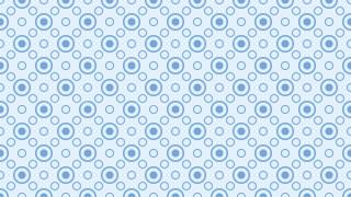 Light Blue Circle Pattern