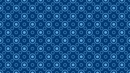Dark Blue Circle Pattern Background