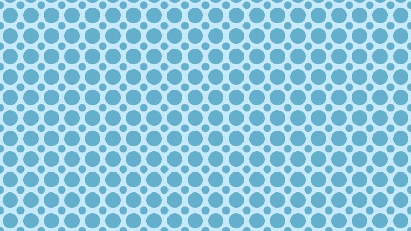 Light Blue Geometric Circle Pattern