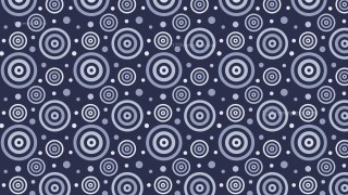 Navy Blue Concentric Circles Pattern Background
