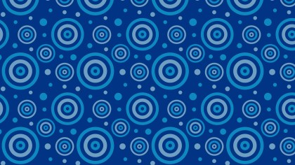 Dark Blue Concentric Circles Background Pattern