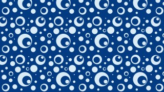 Navy Blue Seamless Circle Background Pattern Graphic