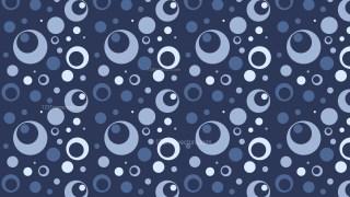 Navy Blue Seamless Geometric Circle Pattern Illustration