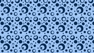Blue Circle Pattern Background
