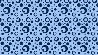 Blue Circle Pattern Background