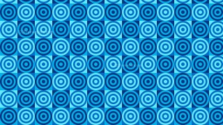 Blue Seamless Concentric Circles Pattern Background Illustrator