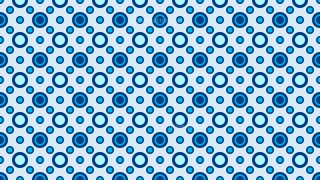 Blue Seamless Circle Pattern