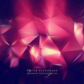 Abstract Dark Pink Polygon Triangle Background